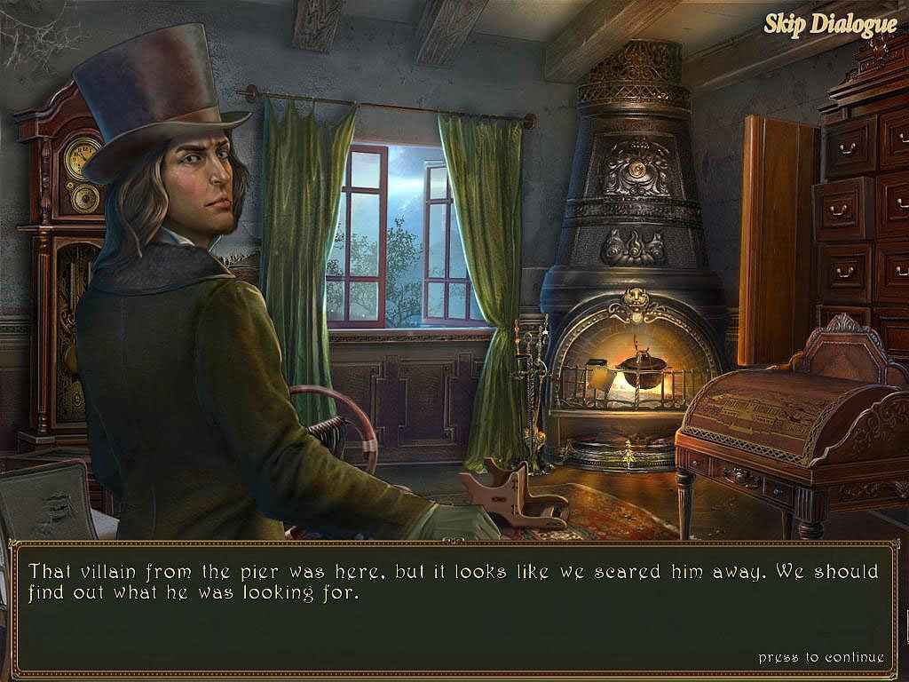play dark tales: edgar allan poe's the gold bug screenshots 1
