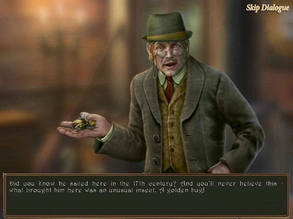 dark tales: edgar allan poe's the gold bug full version screenshots 2