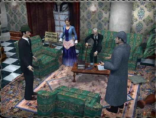 sherlock holmes the mystery of the mummy screenshots 1