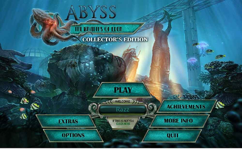 abyss: the wraiths of eden collectors edition screenshots 1