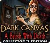 play dark canvas: a brush with death collector's edition