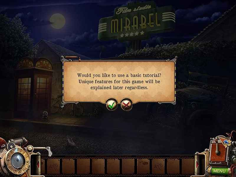 play bizarre investigations: the stealing eye collector's edition screenshots 1