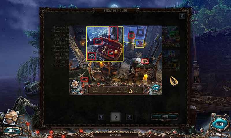 sacra terra: kiss of death walkthrough 10 screenshots 1