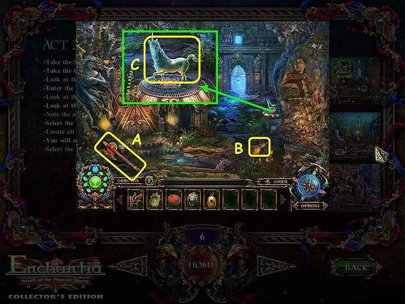 enchantia: wrath of the phoenix queen walkthrough 7 screenshots 1