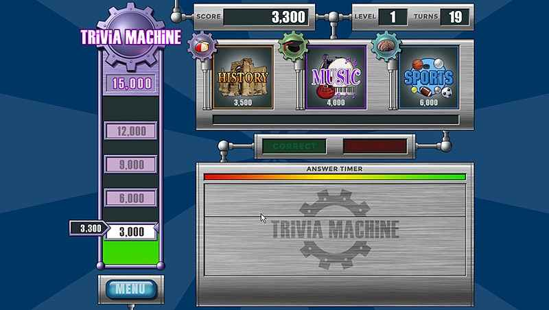trivia machine: reloaded screenshots 1
