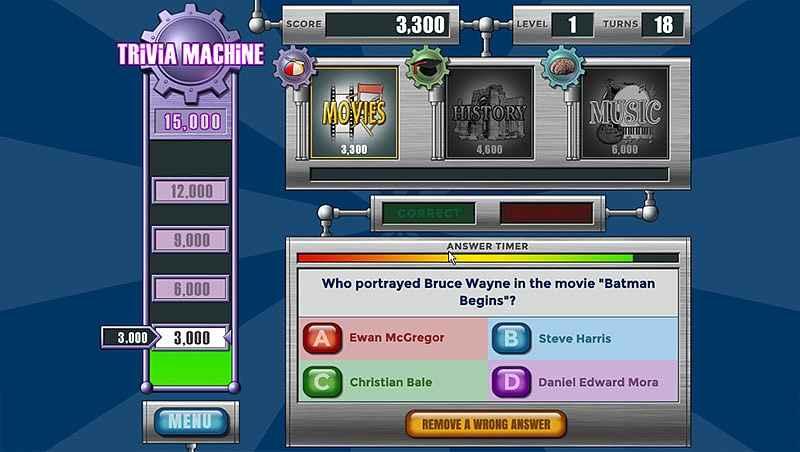 trivia machine: reloaded screenshots 2