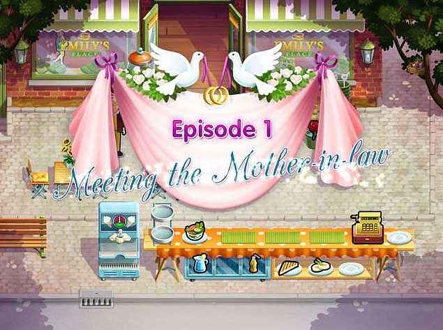delicious - emilys wonder wedding screenshots 1