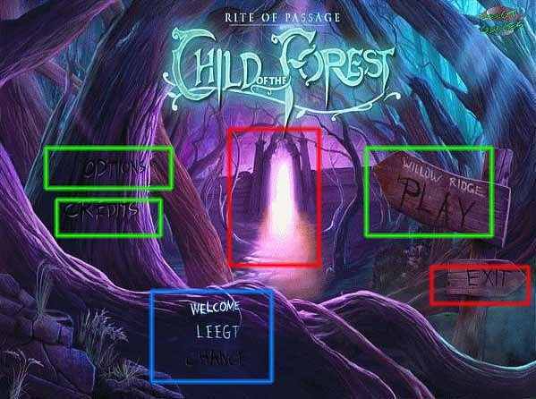 rite of passage: child of the forest walkthrough screenshots 1