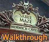 sable maze: norwich caves walkthrough