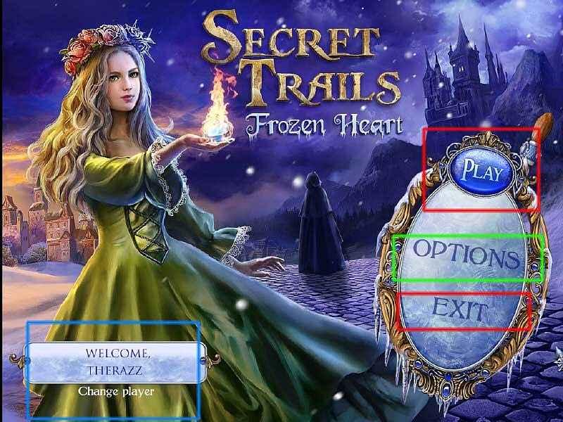 secret trails: frozen heart walkthrough