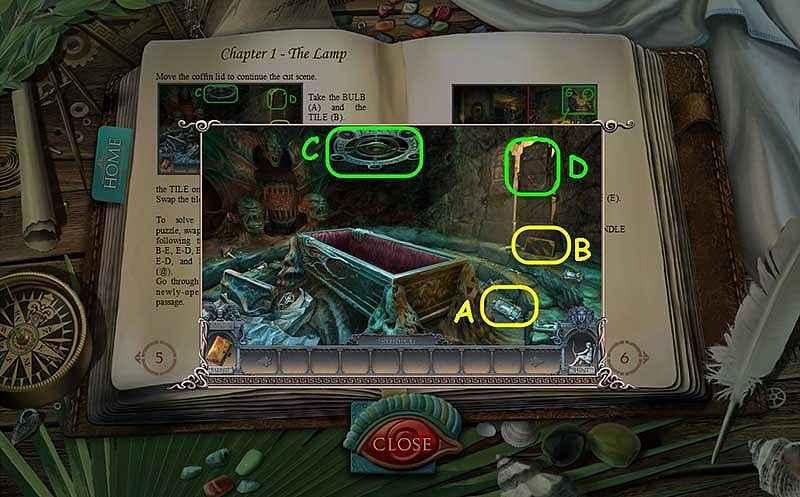 secrets of the dark: mystery of the ancestral estate walkthrough 2 screenshots 1