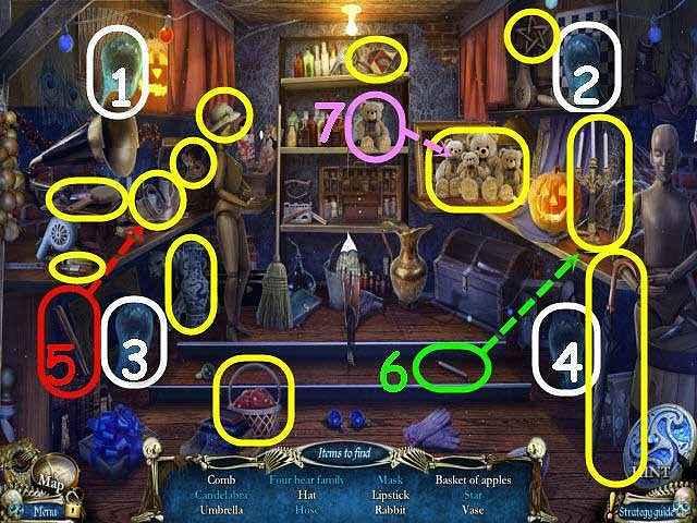 hallowed legends: ship of bones walkthrough 17 screenshots 1