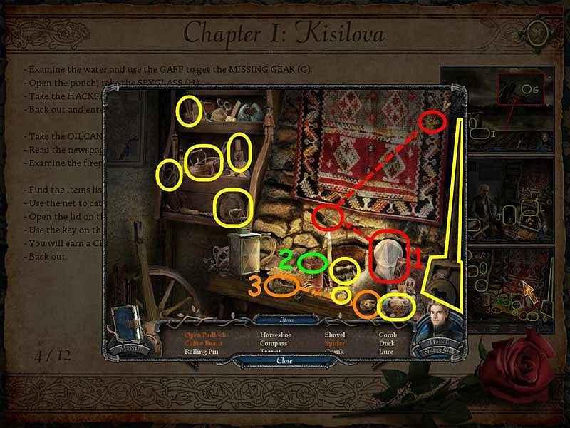 vampire legends: the true story of kisolova walkthrough 4