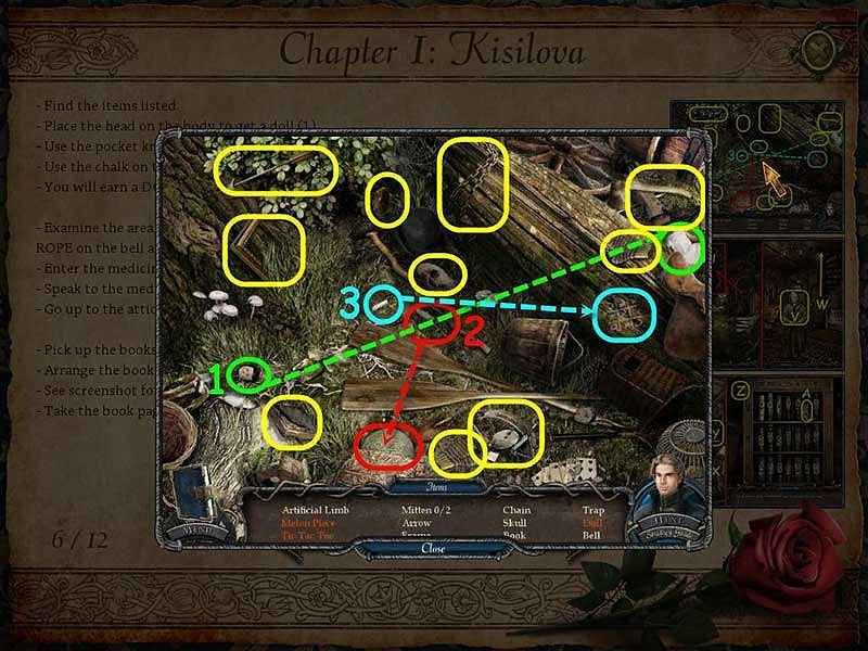 vampire legends: the true story of kisolova walkthrough 6 screenshots 1