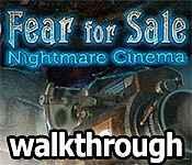 Fear for Sale: Nightmare Cinema Walkthrough 7