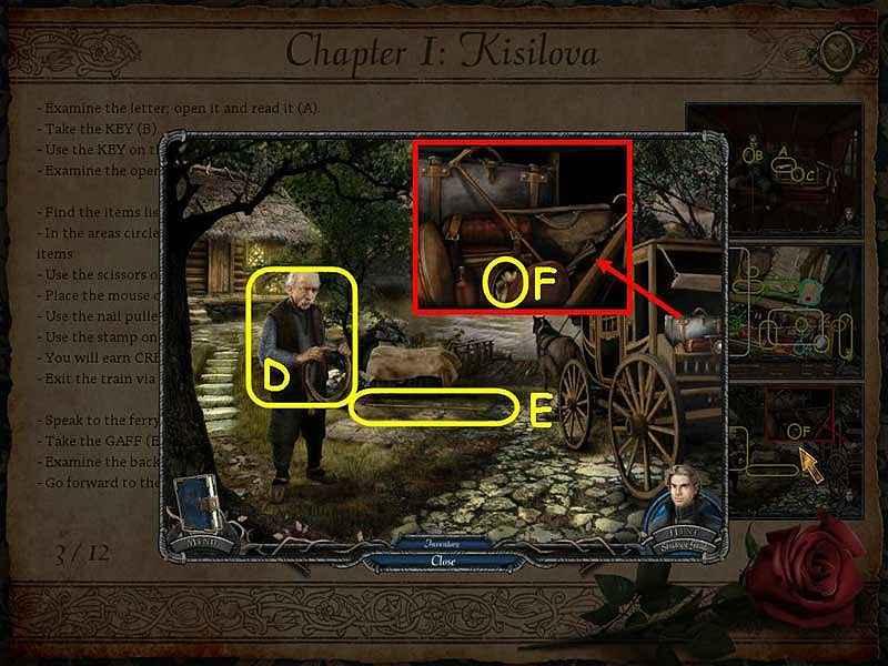 vampire legends: the true story of kisilova walkthrough 3 screenshots 1