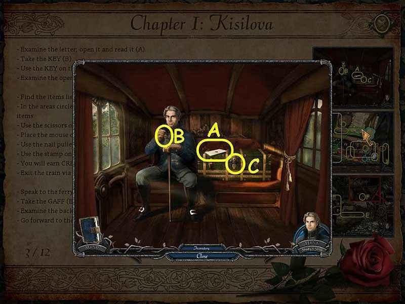 vampire legends: the true story of kisilova walkthrough 3 screenshots 3