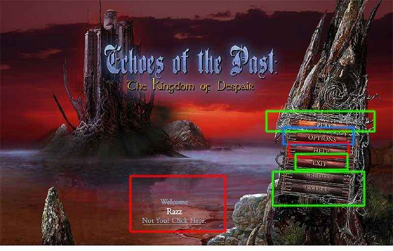 echoes of the past: the kingdom of despair walkthrough screenshots 2