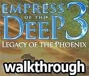 Empress Of The Deep 3: Legacy Of The Phoenix Walkthrough 3