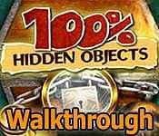 100 Percent Hidden Objects Walkthrough