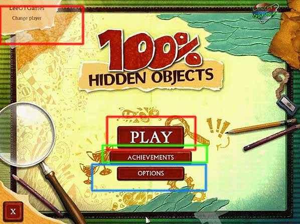 100 percent hidden objects walkthrough screenshots 1