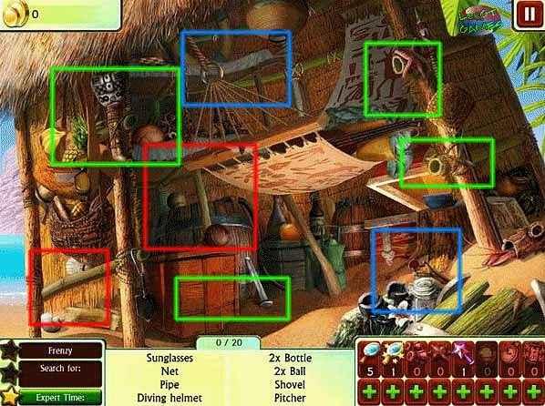 100 percent hidden objects walkthrough screenshots 3