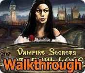 Vampire Secrets: Eternal Love Walkthrough