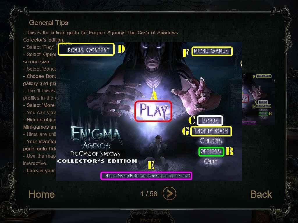 enigma agency: the case of shadows walkthrough 2 screenshots 1