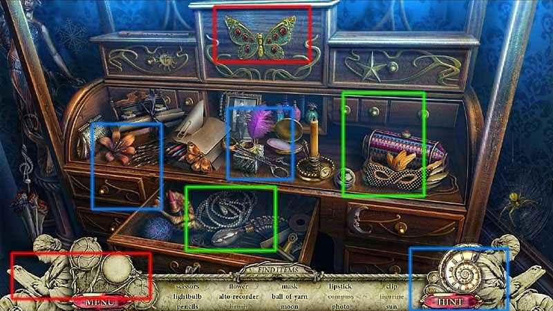 dark cases: the blood ruby collector's edition walkthrough screenshots 1