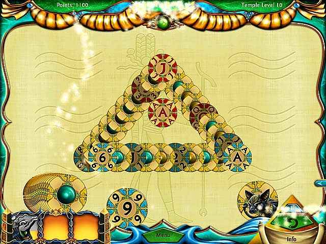 solitaire egypt screenshots 1