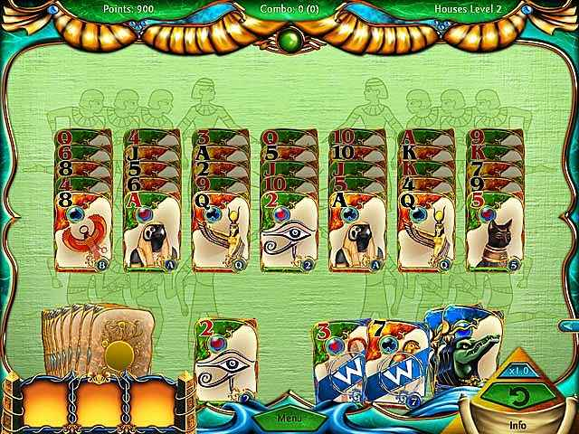 solitaire egypt screenshots 2