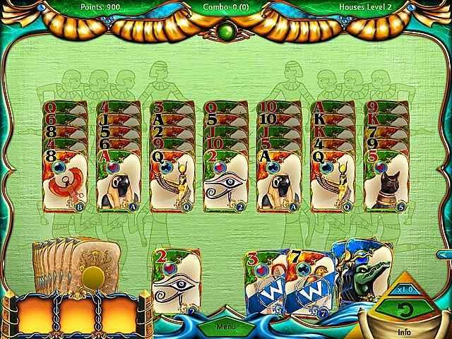 solitaire egypt screenshots 3