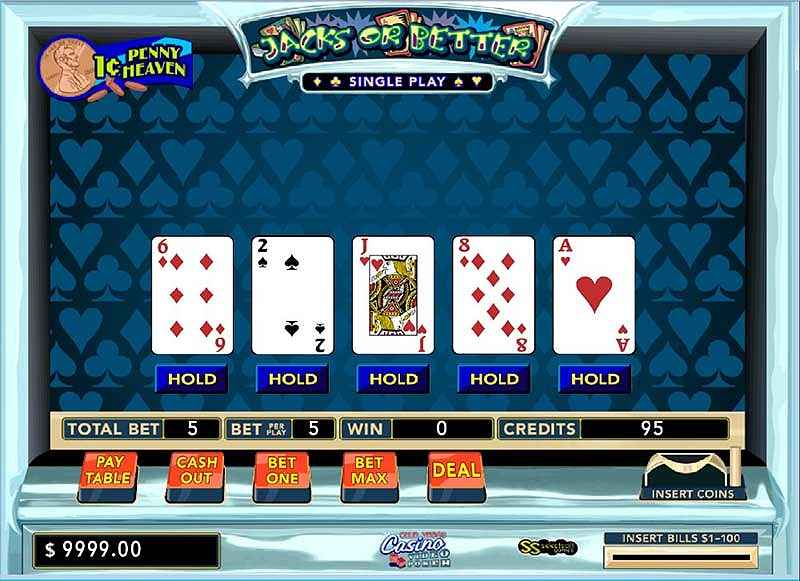 club vegas casino: video poker screenshots 1