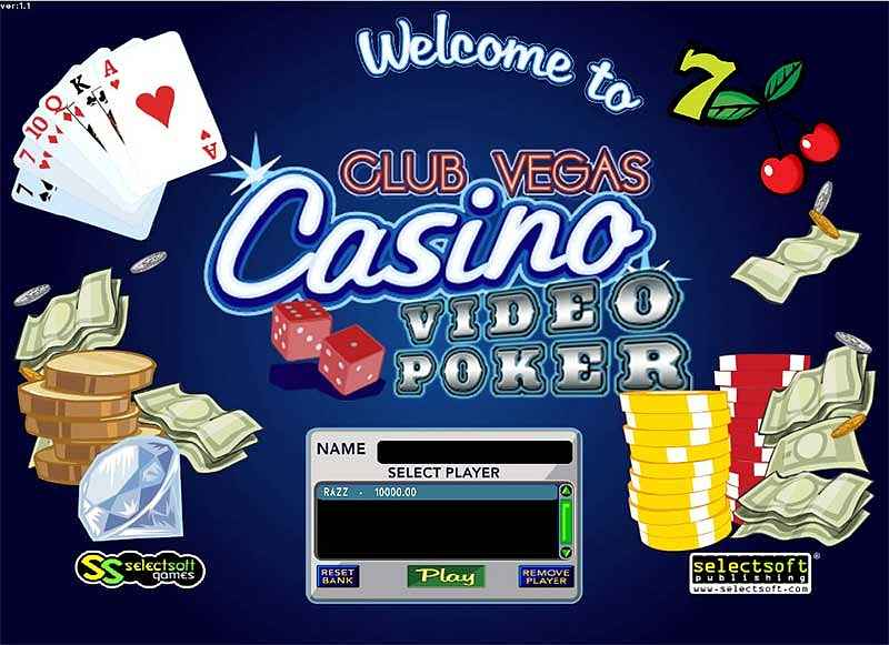 club vegas casino game