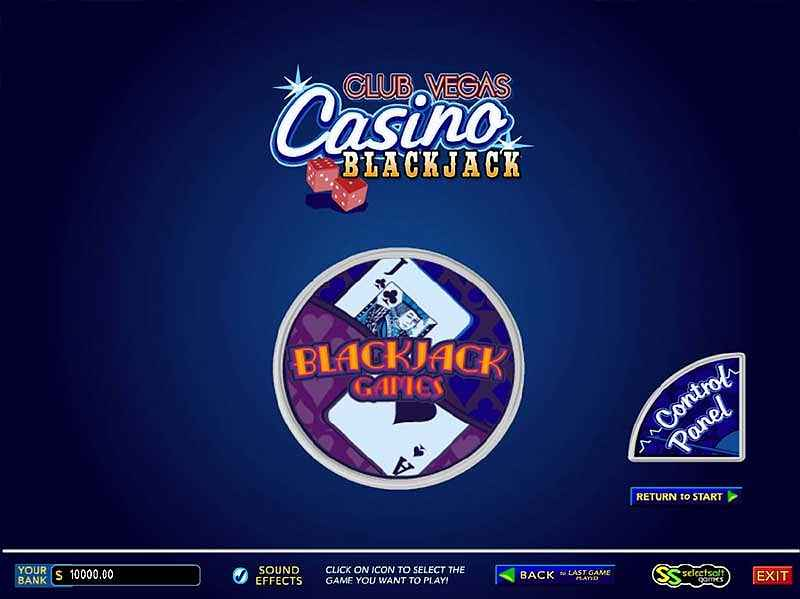 club vegas casino blackjack