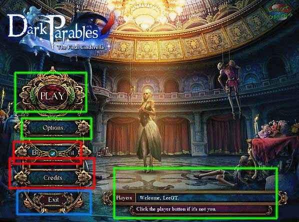 dark parables: the final cinderella collector's edition walkthrough screenshots 1