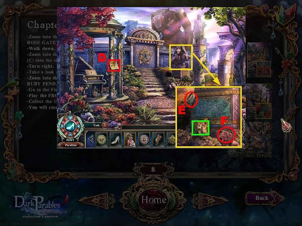 dark parables: the final cinderella walkthrough 9 screenshots 2