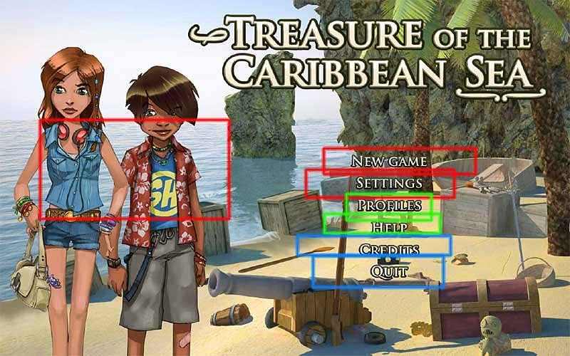 treasure of the caribbean seas walkthrough