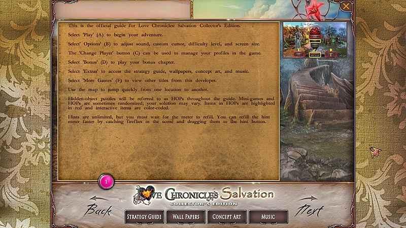 love chronicles: salvation walkthrough 2 screenshots 1