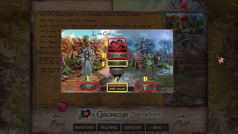 love chronicles: salvation walkthrough 2 screenshots 2