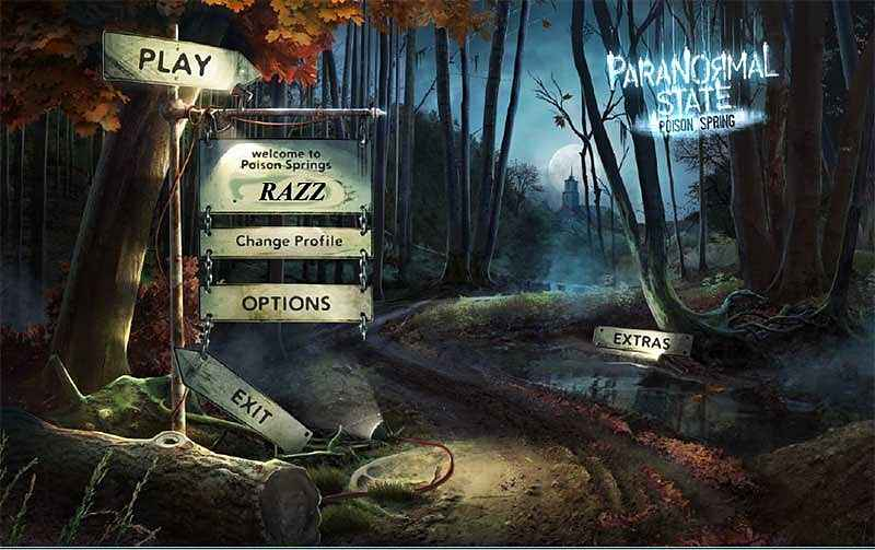 paranormal state: poison spring collector's edition screenshots 2