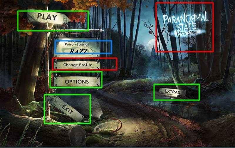 paranormal state: poison spring collector's edition walkthrough