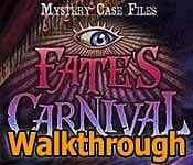 Mystery Case Files: Fate's Carnival Walkthrough
