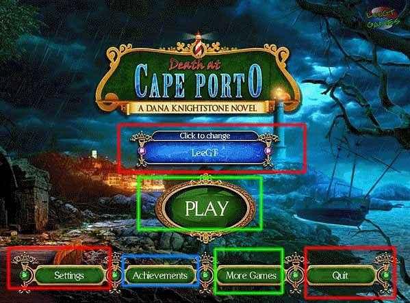 death at cape porto: a dana knightstone novel collector's edition walkthrough screenshots 1