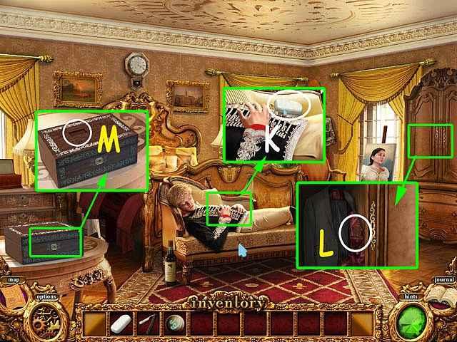 mystery murders: the sleeping palace walkthrough 4 screenshots 2