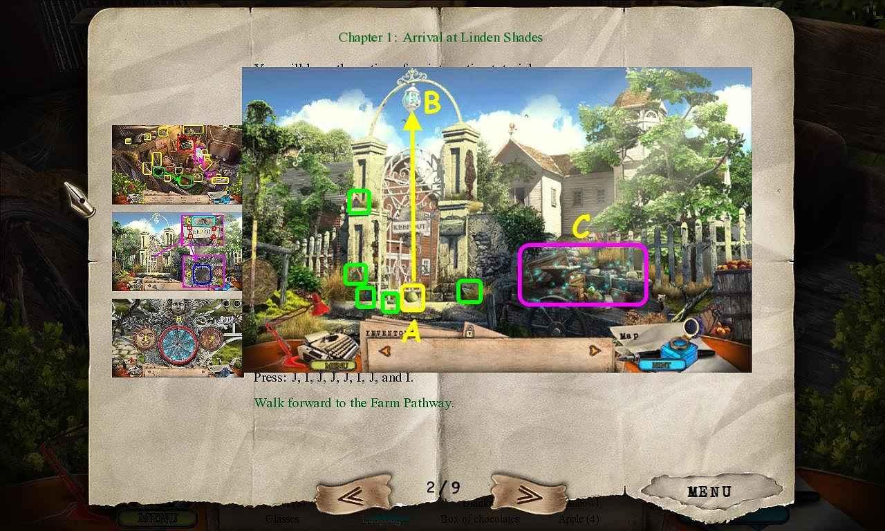 off the record: linden shades walkthrough 3 screenshots 1