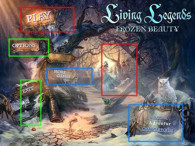 living legends: frozen beauty collector's edition walkthrough screenshots 3