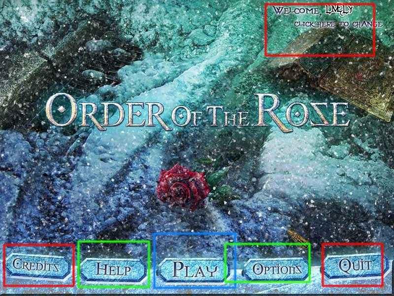 order of the rose walkthrough
