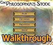 The Philosopher's Stone Walkthrough