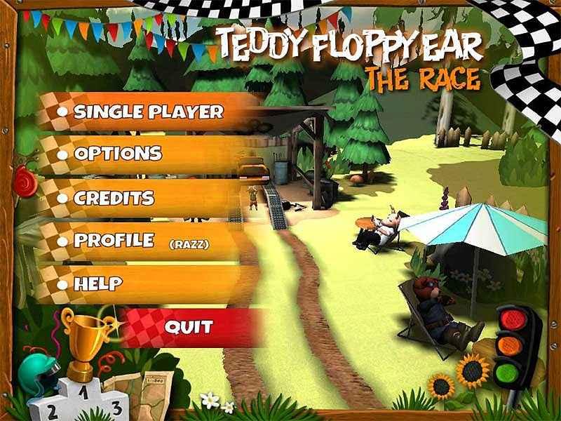 teddy floppy ear: the race screenshots 1